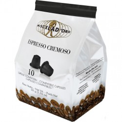 Miscela d'Oro Espresso Cremoso NES Capsules 10 x 5 gr