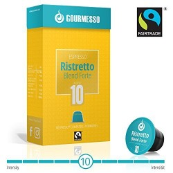 Gourmesso Ristretto Blend Forte - fairtrade | Intensiteit 10