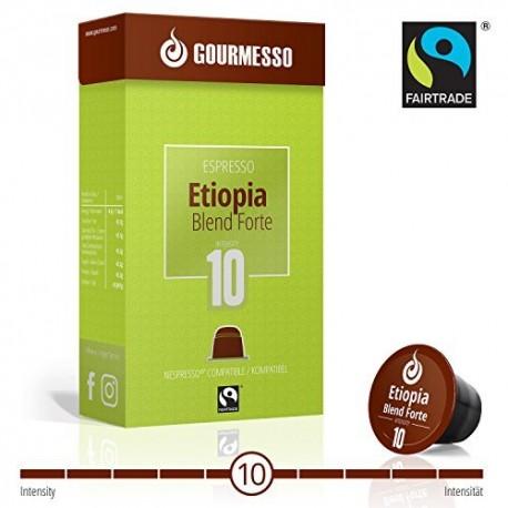 Gourmesso Etiopia Blend Forte – fairtrade